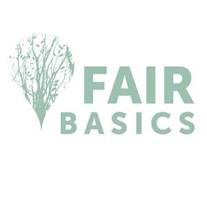 Fair Basics logo voor duurzame ondernemers, retailers. MVO op De Duurzame Kaart