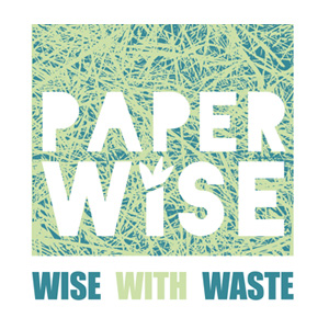 one page website paperwise logo papier karton landbouwafval afvalvermindering grondstoffen milieu