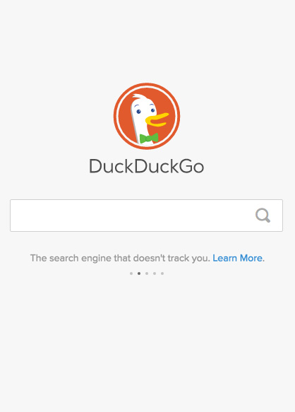 DuckDuckGo privacy zoekmachine alternatief voor Google.