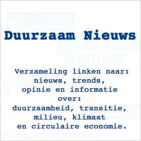 Duurzaam nieuws: trends artikel informatie opinie lijst MMENR
