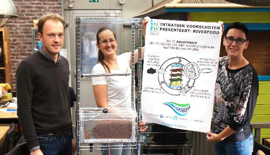 Workshop Aquaponics cursus intratuin zelf bouwen MMENR