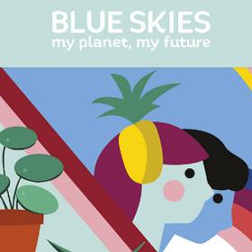 Blue Skies programma festival circulaire economie co2 neutraal Groningen MMENR Duurzame Kaart
