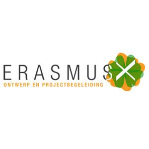 Erasmus X Logo leefbaarheid milieu architect project begeleiding De Duurzame Kaart
